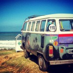 Camping out at the Atlantic  Old campervan parked onhellip