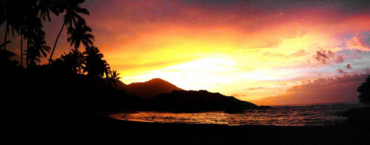 Sundown at Cabo San Juan Tayrona Nationalpark
