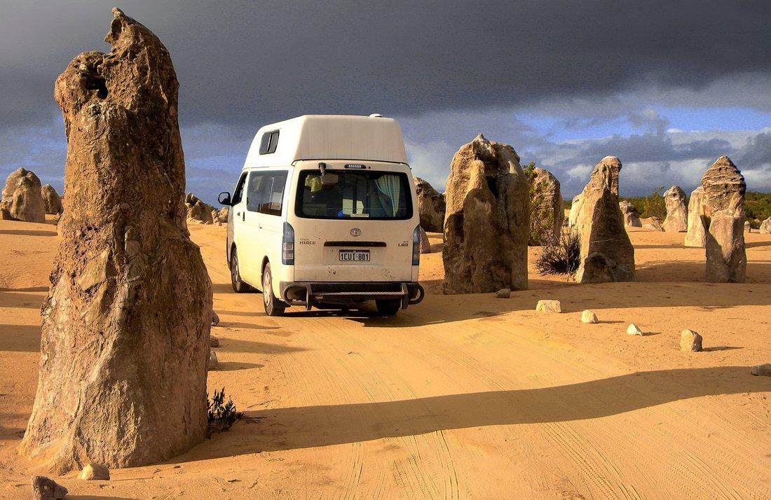 Pinnacles Westküste von Australien