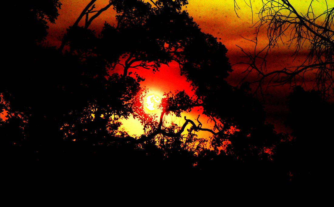 sundown at kakadu NP