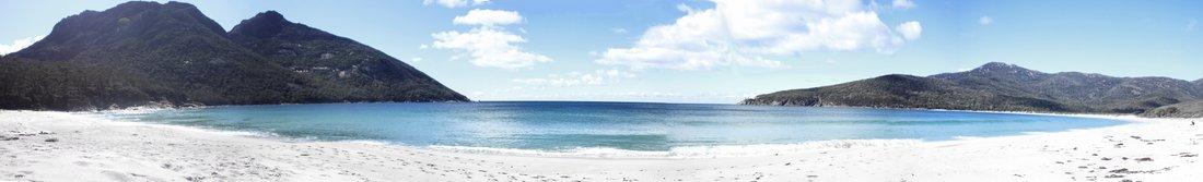 Australien Tasmanien Strand