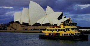 Australien Sydney Opera House Harbour