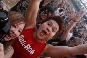Rockkonzerte in Thailand Anti-Flag