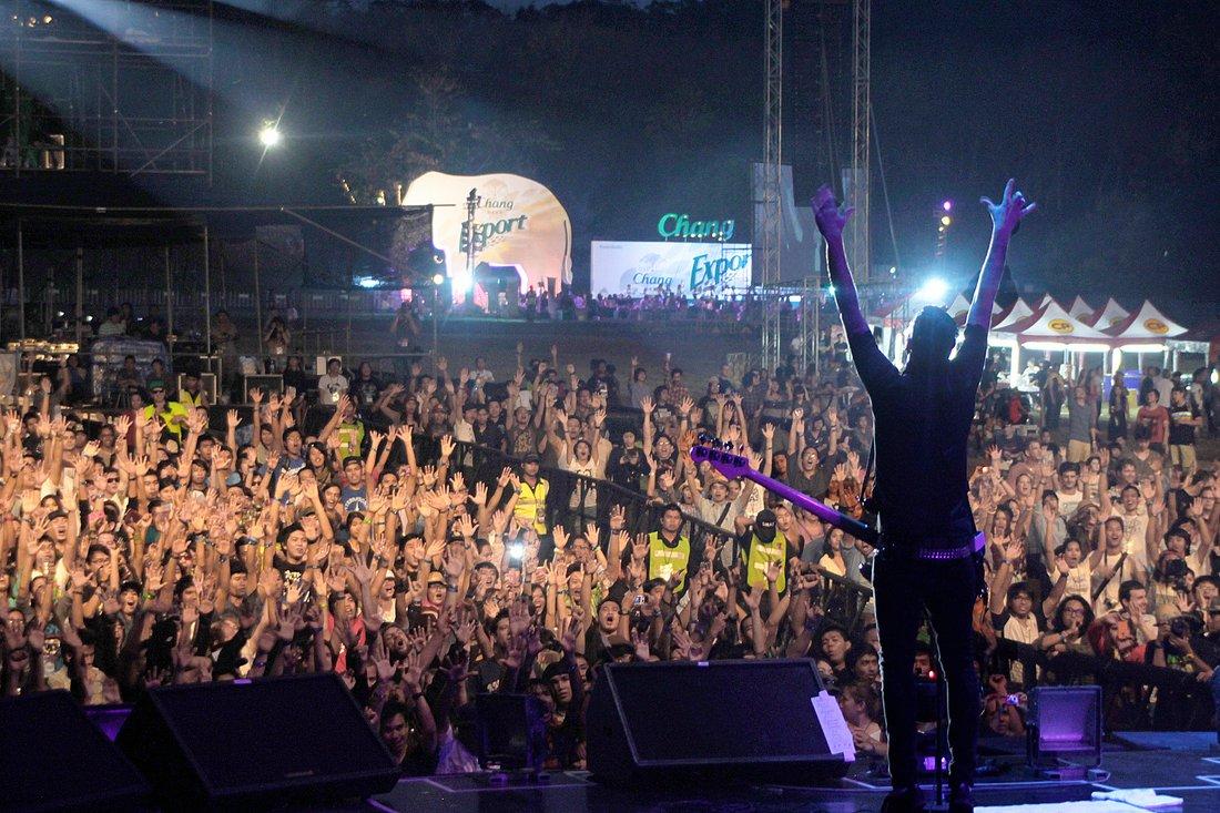Anti-Flag Rockkonzerte in Thailand