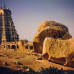 The giant boulders of Hampi India