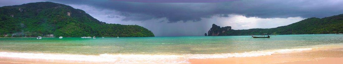 Koh Phi Phi Strand Panorama