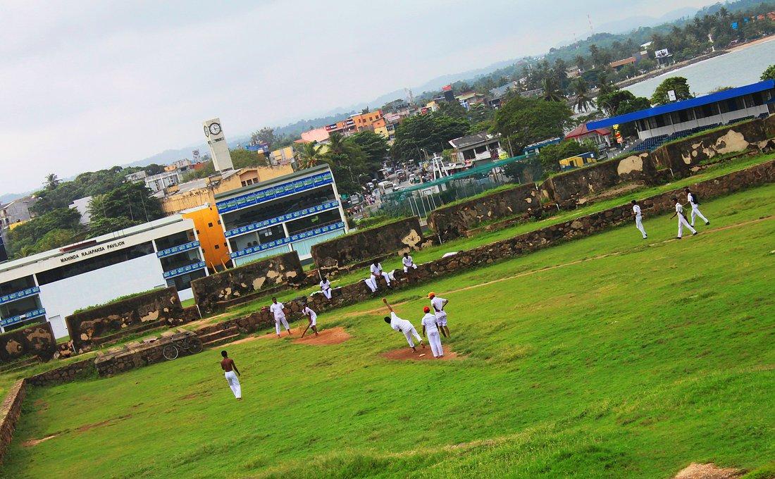 Galle, Cricket, Sri Lanka