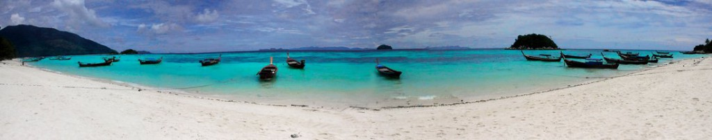 Koh Lipe, Sunrise Beach, Panorama