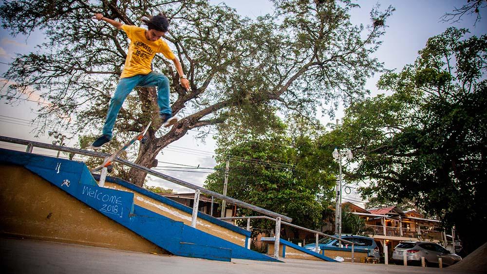 Costa Rica Skateboarding Coco
