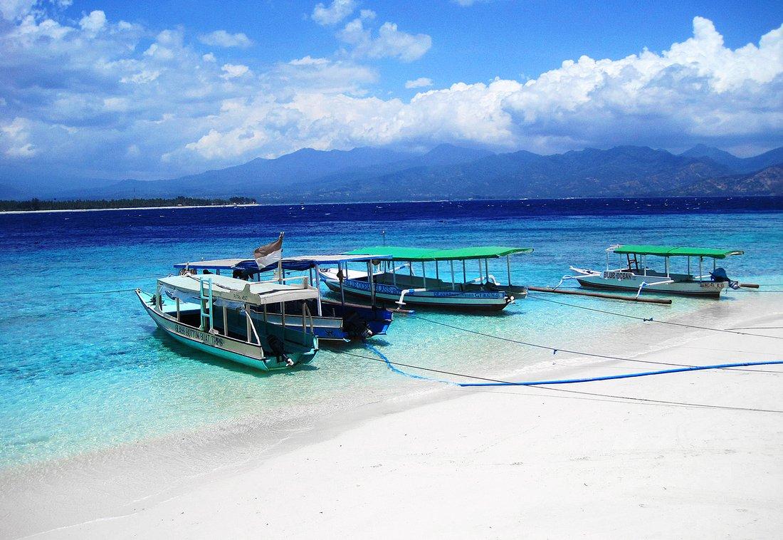 Beach Impressions, Gili Air, Indonesia